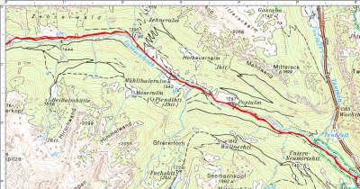 Abschnitt 1: Der langgezogene Zustieg von Tweng ins Lantschfeldtal