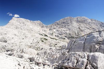 Von Westen: Temlberg (links) und Feuertalberg (rechts)