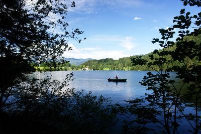 Bootsverkehr am Gleinkersee