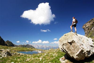 Herzlichen Dank an meinen ortskundigen Bergführer Martin