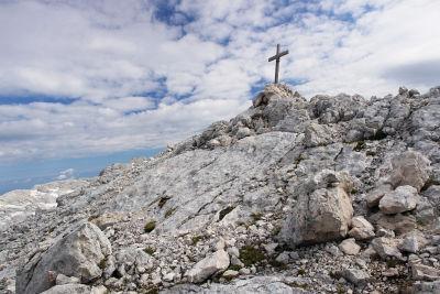 Gipfelkreuz am Temlberg
