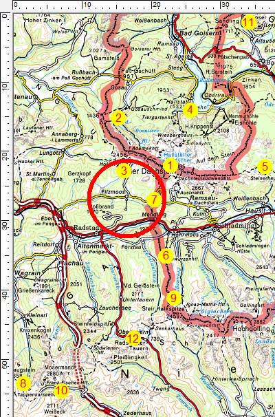 Fototouren im Wandergebiet Dachstein-Tauern
