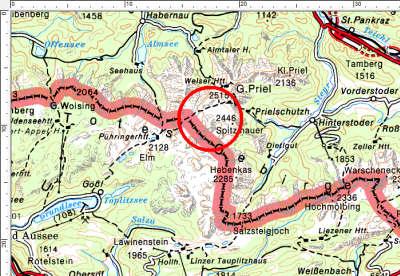 Das Tourengebiet Temlberg in Oberösterreich