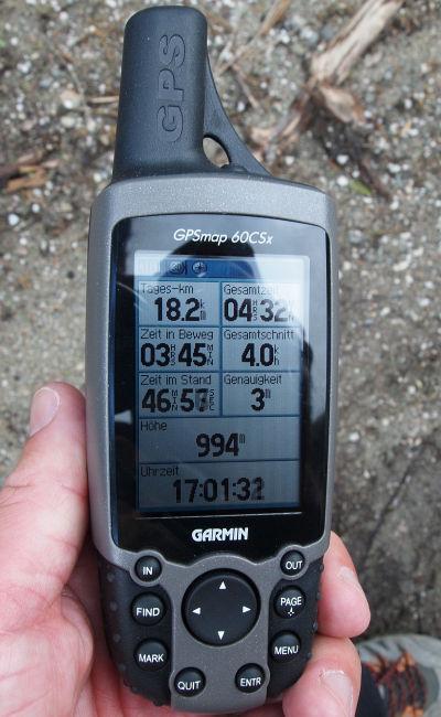 Groß und robust - GPSMAP 60CSx