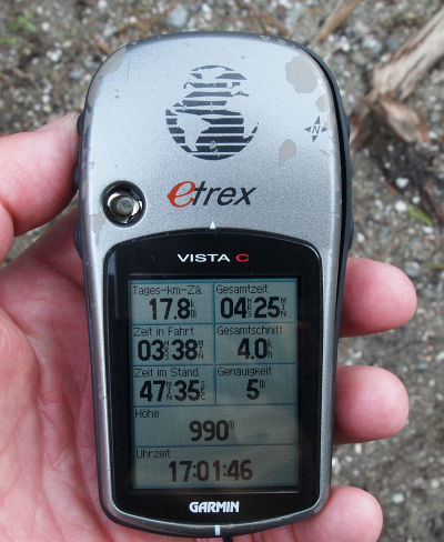 Klein und handlich - eTrex Vista C