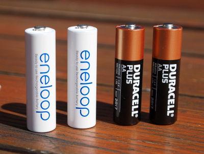Reserve-Akkus / -Batterien sollten immer ins Gepäck