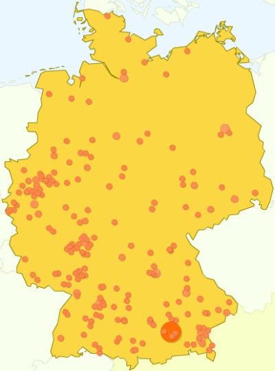 Zugriffsknoten in Deutschland