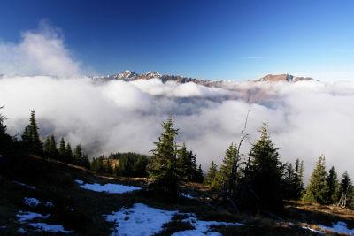 Nebel über dem Gullinggraben