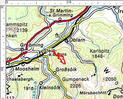Tourengebiet Jauereck
