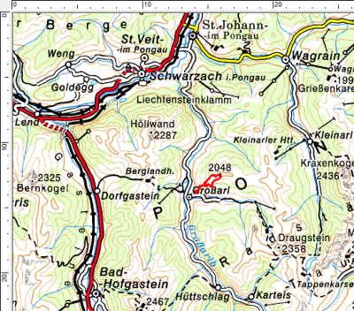 Tourengebiet Reschenbergalm - Saukarkopf - Gerstreitalm
