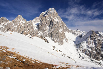 1.000 Höhenmeter ragen die Felswände des Torstein in den Himmel