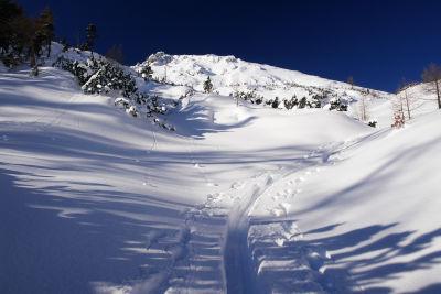 Herrliche Schneeverhältnisse oberhalb von 1.600 Meter Höhe