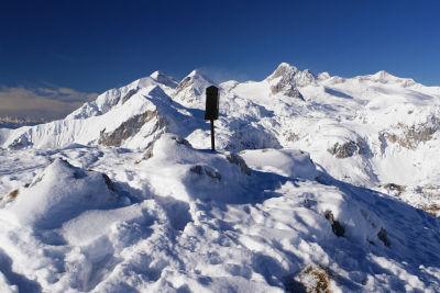 Das Gipfelbuch auf der Luserwand