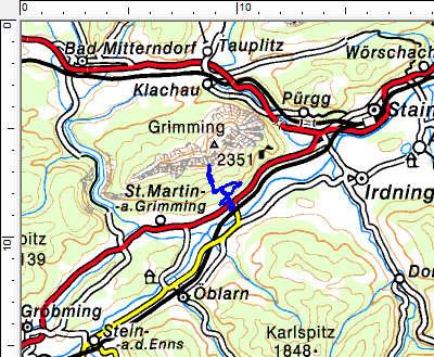 Tourengebiet Grimmingtor
