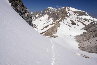 Abstieg Richtung Taferlscharte