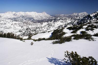 Weitläufiges und einsames Hochplateau am Toten Gebirge