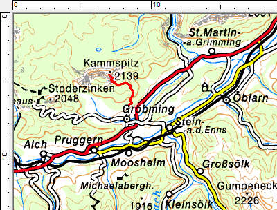 Tourengebiet Gröbming-Kammspitz