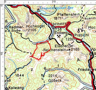 Tourengebiet Kragelschinken - Wildfeld - Stadelstein