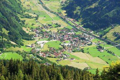 Abstieg zurück ins Tal nach Dorfgastein