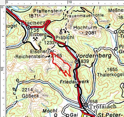 Tourengebiet Grete-Klinger-Steig - Krumpensee