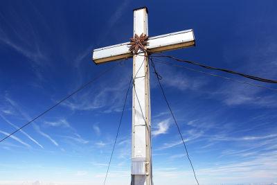 Gipfelkreuz auf der Hochwildstelle