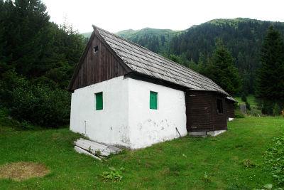 Abstieg über die Stuhlpfarrerhütte