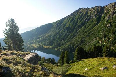 Blick über den Großen Scheibelsee