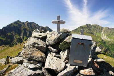 Kleines Gipfelkreuz auf der Großen Rübe