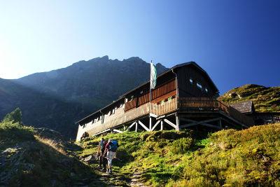 Aufstieg zur Preintalerhütte