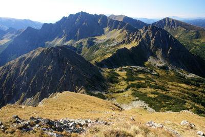 Abstieg vom Gr. Grießstein ins Rauchauftörl (links)