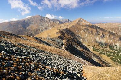 Blick von der Schaigerhöhe zu Seckauer Zinken und Hämmerkogel