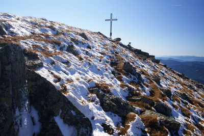 Gipfelkreuz am Kesseleck