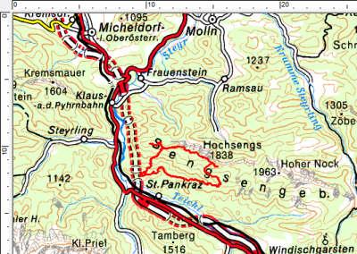 Tourengebiet Windischgarsten - Sengsengebirge