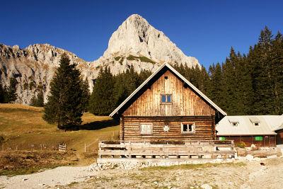 Tourenausgang bei der Oberst-Klinke-Hütte