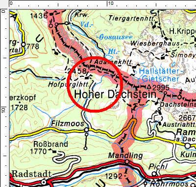 Tourengebiet Filzmoos - Hofalmen