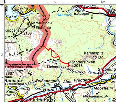 Tourengebiet Gröbming - Kemetgebirge