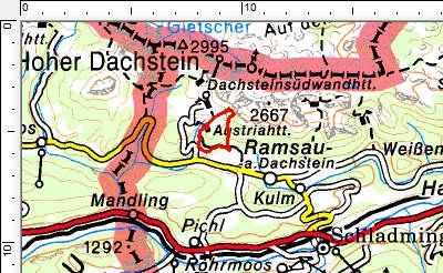 Tourengebiet Ramsau am Dachstein
