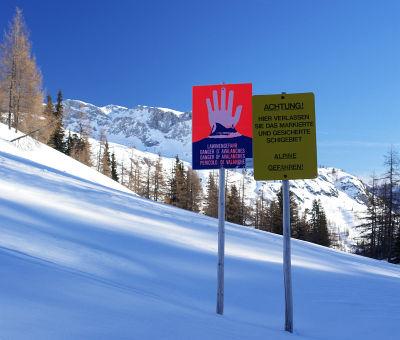 Gefahren bei Winterwanderungen