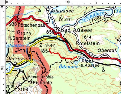 Tourengebiet Salzkammergut - Ödensee