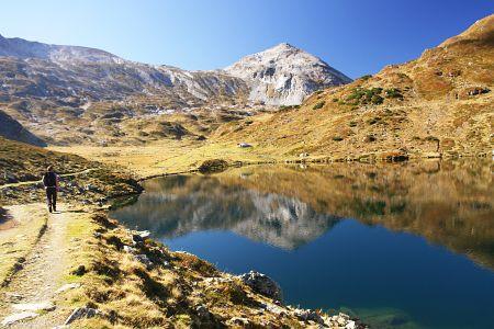 Giglachsee und Steirische Kalkspitze