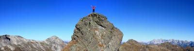 """AlpenYeti am Weg zur Engelkarspitze - Abgelichtet vom """"Ortsfotografen"""" Martin"""