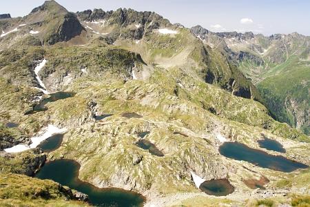 Großartiger Ausblick über den Klafferkessel bis zum Greifenstein
