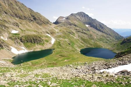 Angersee und Zwerfenbergsee