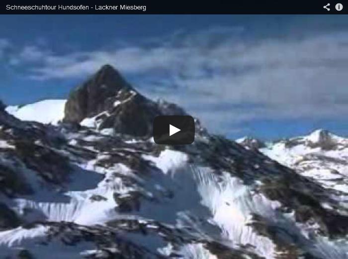 Schneeschuhtour über das Dachsteinplateau auf den Lackner Miesberg