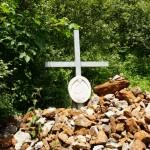 Kreuz beim Abstieg nach der Rotsohlalm