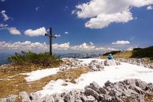 Gipfelkreuz am Hochstadl (Kräuterin)