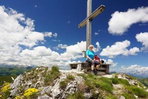 Gipfelkreuz am Weißgrubenkopf