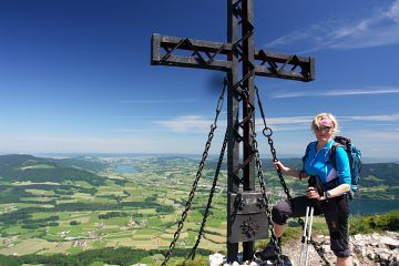 Gipfelkreuz am Schober