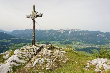 Gipfelkreuz Seespitz (04.07.2014)
