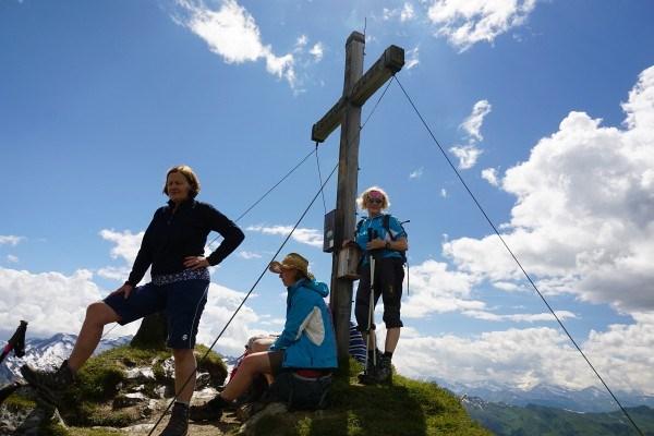 Gipfelkreuz Glingspitze (06.07.2014)